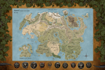 The Map of Tamriel