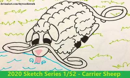 2020 Sketch Series 1/52 - Carrier Sheep