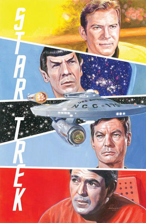 star trek Original Fab Four by WestStudio3