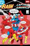 Flash versus Captain America