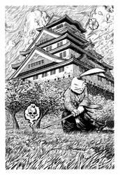 Usagi Yojimbo for the Sakai Project benefit book