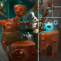 redrobotbits by CrankBot