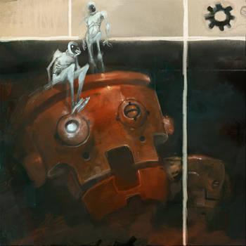redrobotheadaches by CrankBot