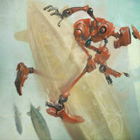 redrobotzeppelinride by CrankBot