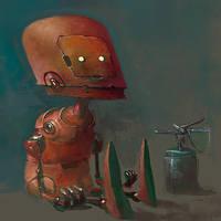 redrobotkidgimmefuel by CrankBot