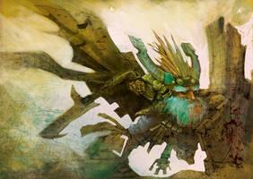dwarf raider-unfinished by CrankBot