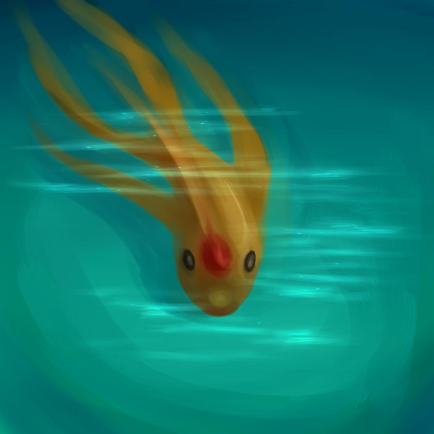 fire fish by niji-niji