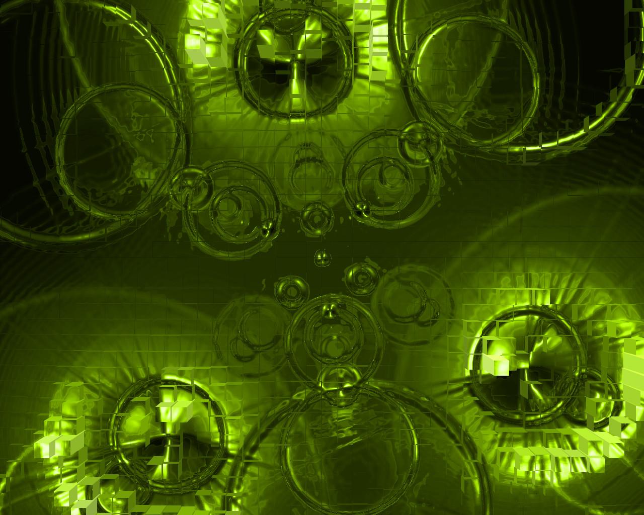 Green Blocks by sAARGe