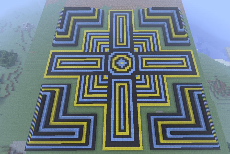 Minecraft pattern by dutchcrafter on deviantart for Minecraft floor designs