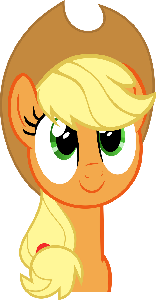 Cute applejack vector by Dutchcrafter