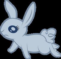 Sad rabbit vector by Dutchcrafter