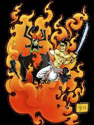 Battle the ancient evil