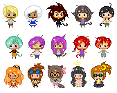 Mini Pixel Batch by elemental24