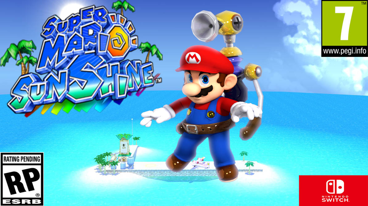 Super Mario Sunshinehd Wallpaper By Supermariojumpan On Deviantart