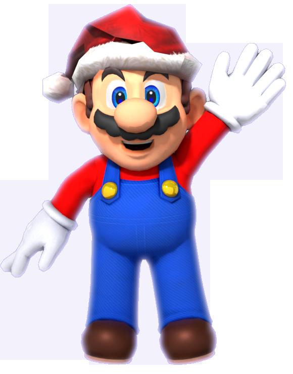 Christmas Mario Png.Merry Christmas By Supermariojumpan On Deviantart