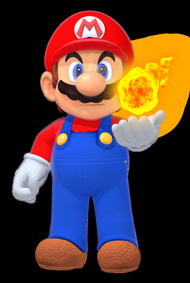 Memariosuper Smash Bros Switch Render By Supermariojumpan