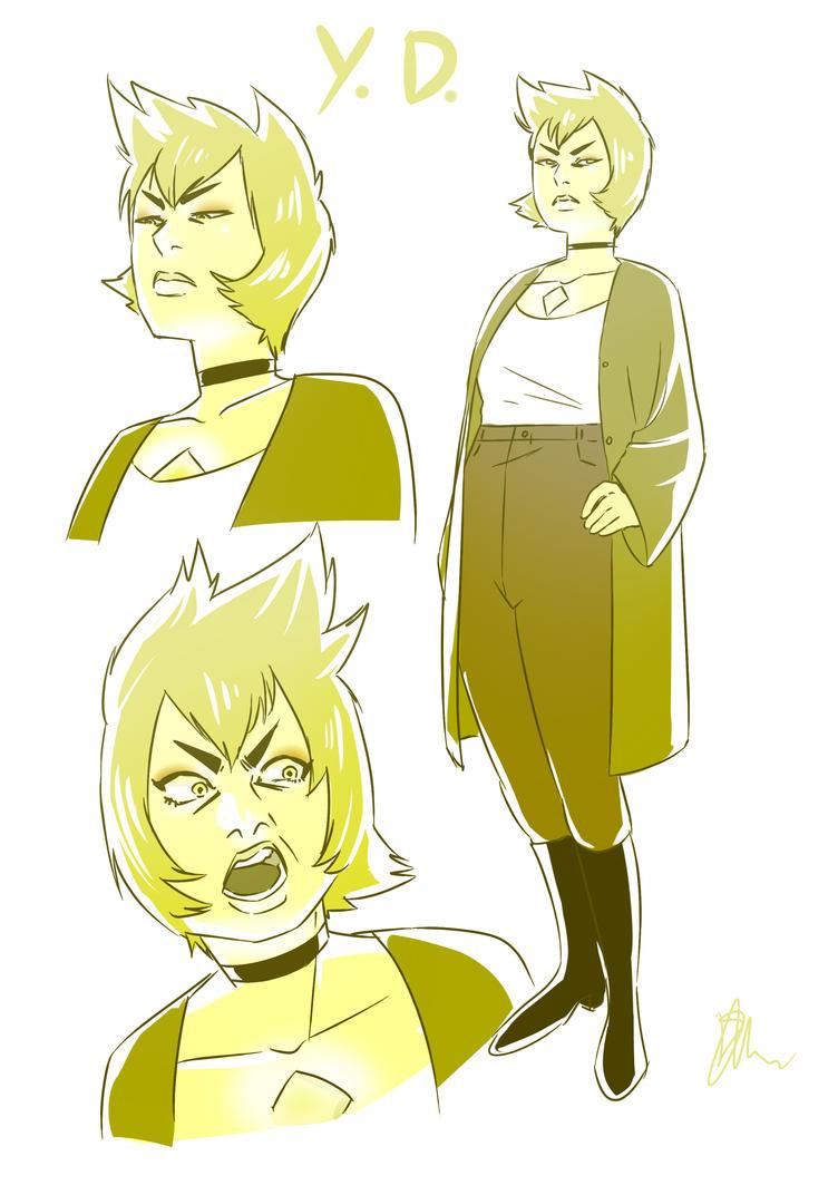 Yellow Diamond by devilni