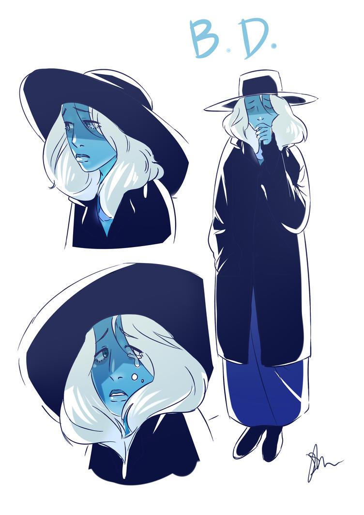 Blue Diamond by devilni