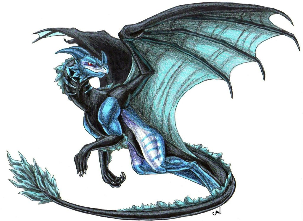 Ice Dragon Drawing Ice Dragon Kaltarus1024 x 746