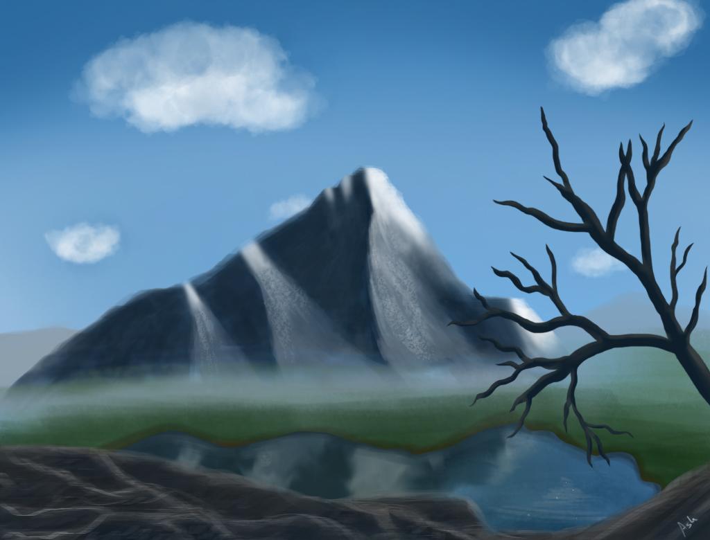 Mountain by BouAsh