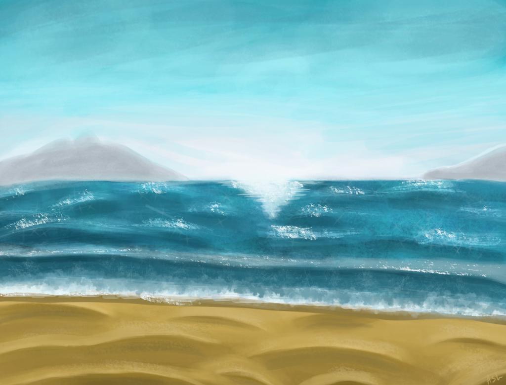 Beach by BouAsh