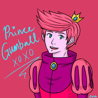 Prince Gumball by glaelion