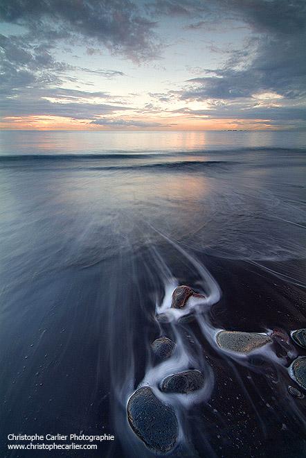 Black beach by ChristopheCarlier