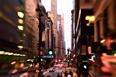 New York by Lensbaby by ChristopheCarlier