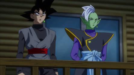 Zamasu Goku Black screenshot
