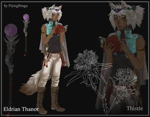 Eldrian Thanor - Fleuvelier Contest Submission