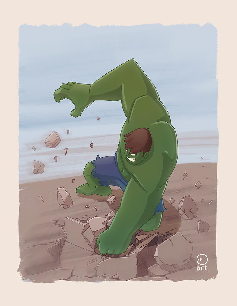 151 Hulk by ArtVStudio