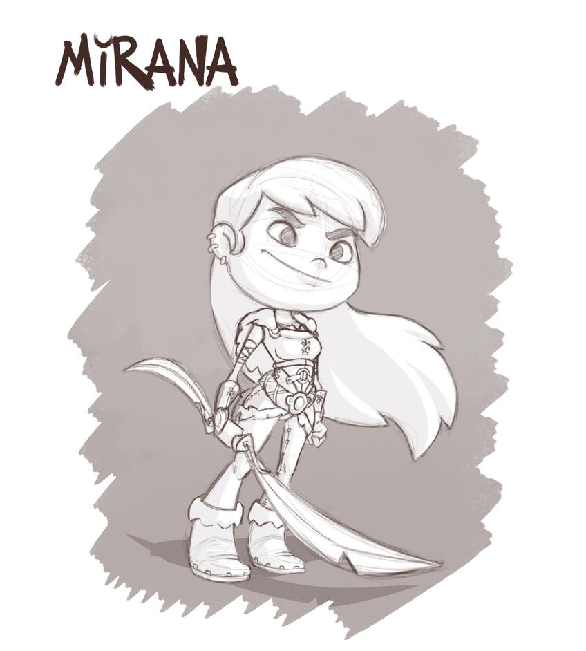 Character Sketch B by ArtVStudio