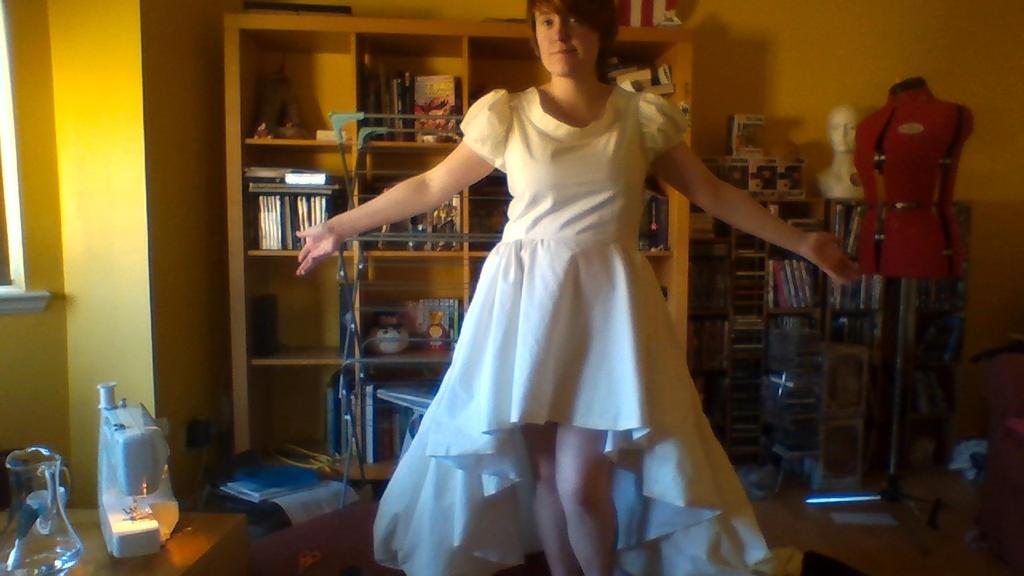 WIP CardCaptor Sakura Wing Gown Cosplay :kitacon: by CaptainKurfuffle