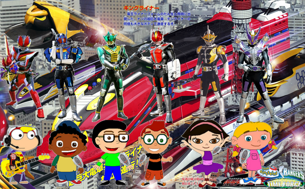 Little Einsteins Rangers Time Force Wallpaper By JackandAnnie180