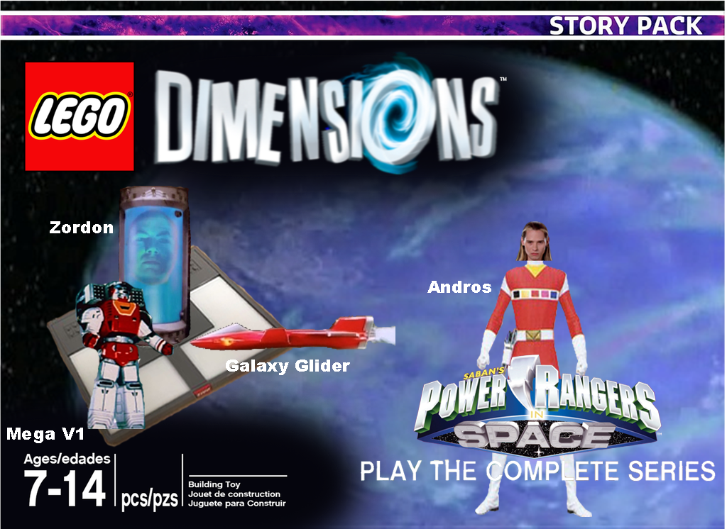 Lego Dimensions Power Rangers In Space Story Pack by ...