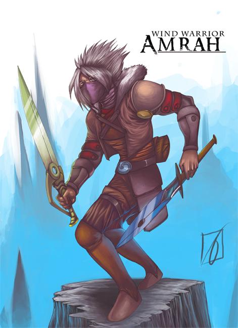 AMRAH by RafalLegatus