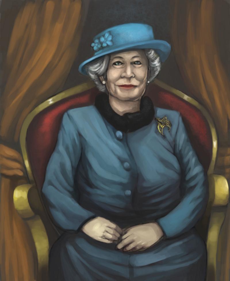 Queen Elizabeth by RafalLegatus