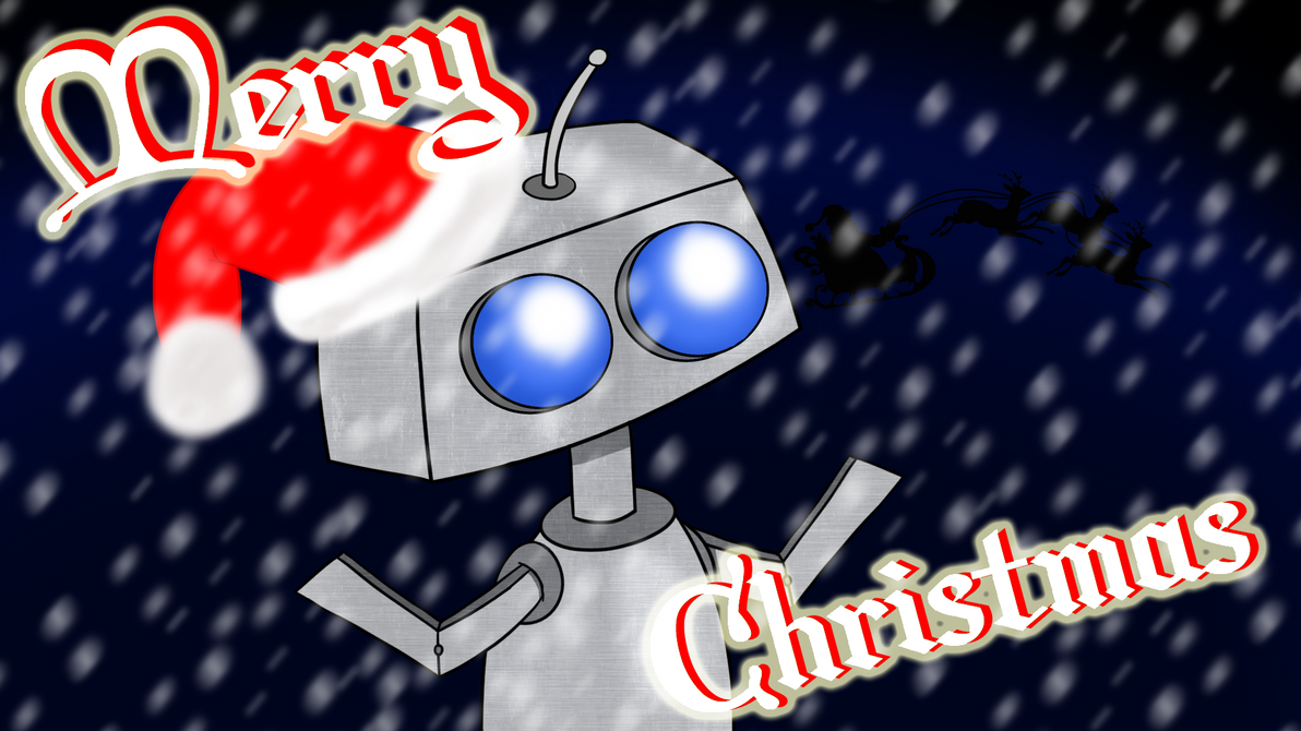 Christmas robot! by FreddieLaBella on DeviantArt