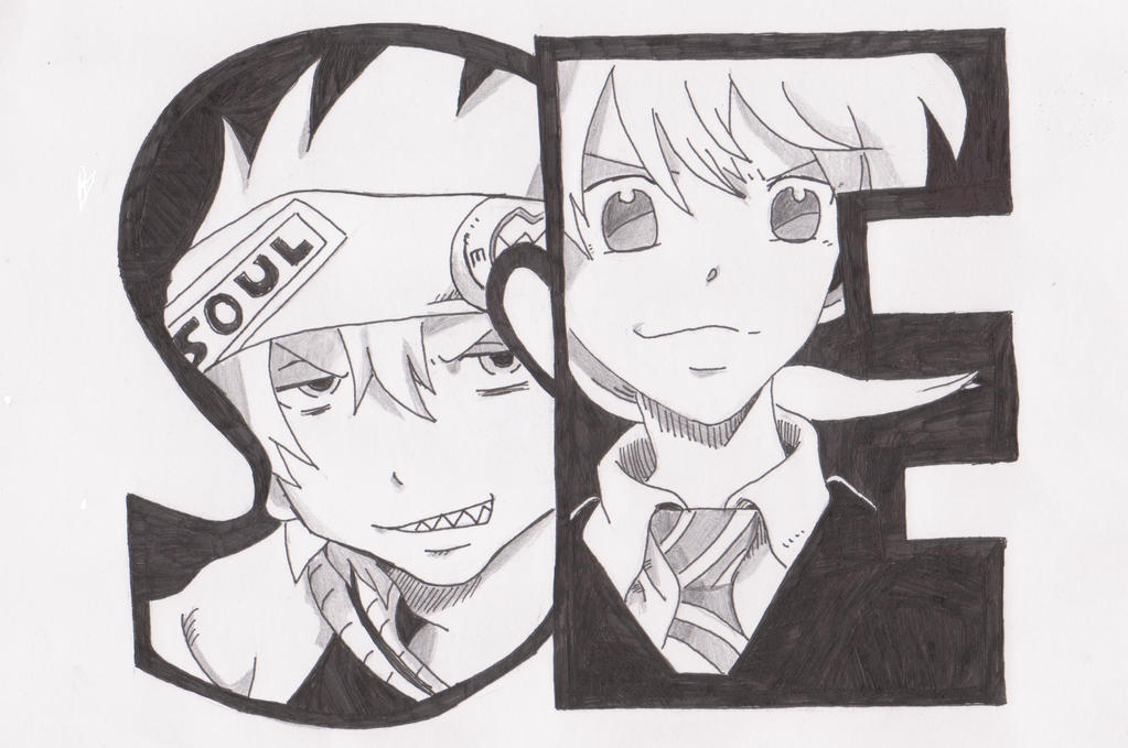 Soul and Maka by thegodrealm