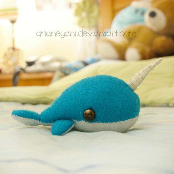 Bruce the Narwhal by arianeyani