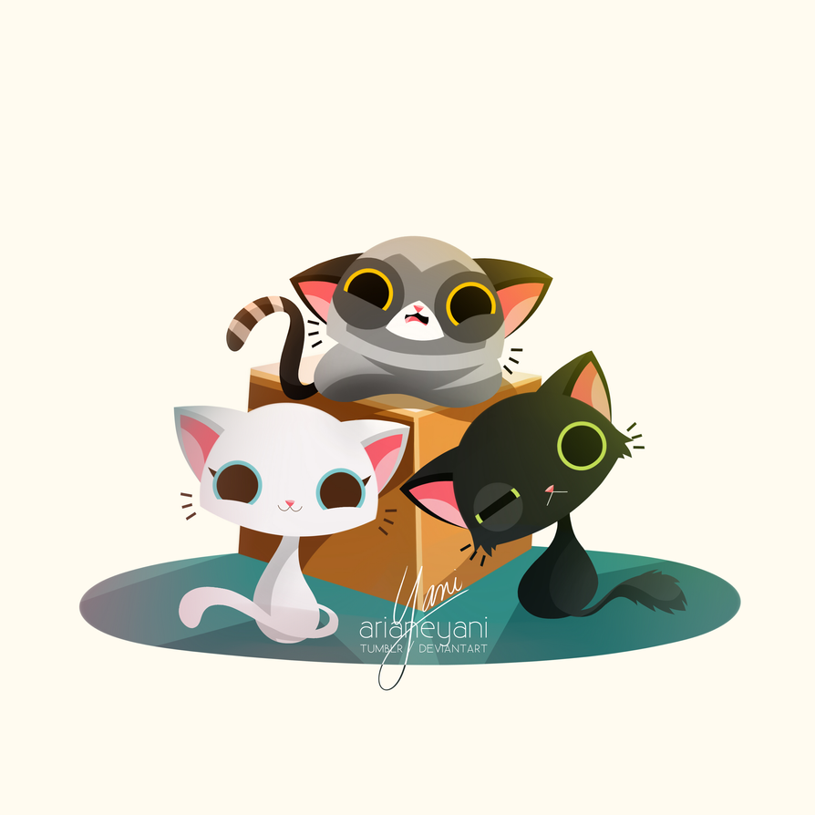CATSCATSCATS by arianeyani