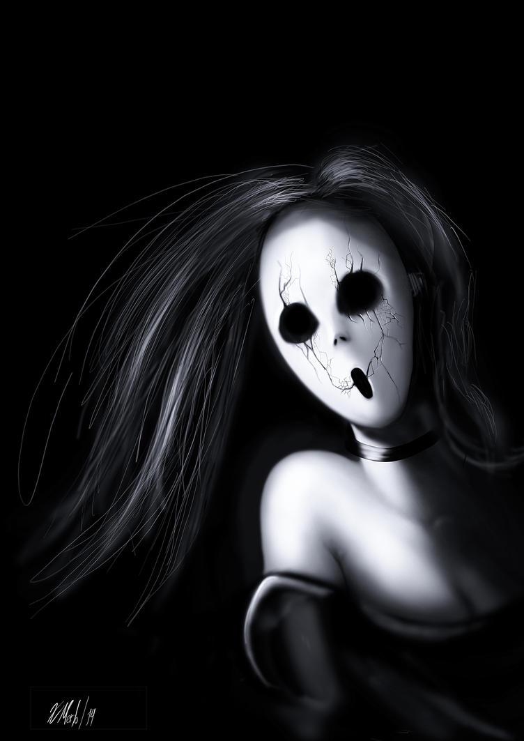 Gothic Mask by xavi-M