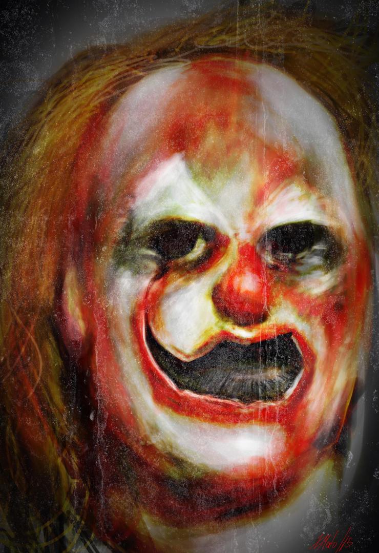 Clown by xavi-M