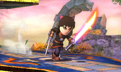 Blake Belladonna Mii Fighter by dsguy411