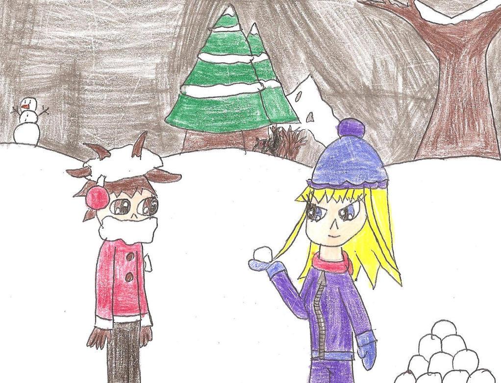 Rachel the Snowball Queen by dsguy411