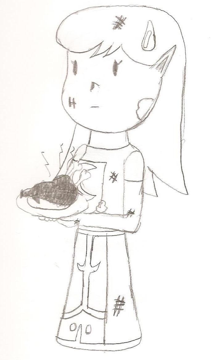 Sketch - Burnt Turkey by dsguy411