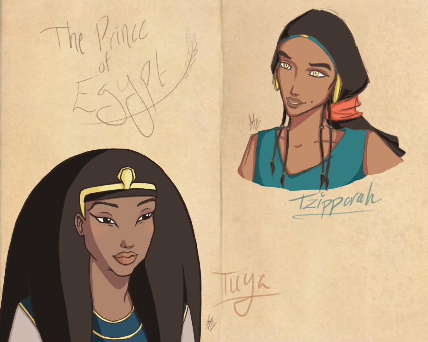 The Prince Of Egypt Doodles by saki08