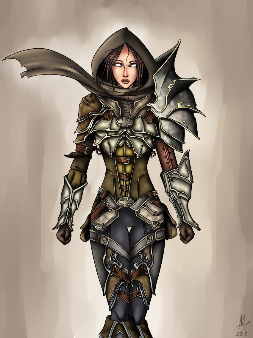 Demon Hunter by saki08 on DeviantArt  Demon Hunter by...