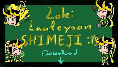 Loki Laufeyson Shimeji by Nouveau-Charles