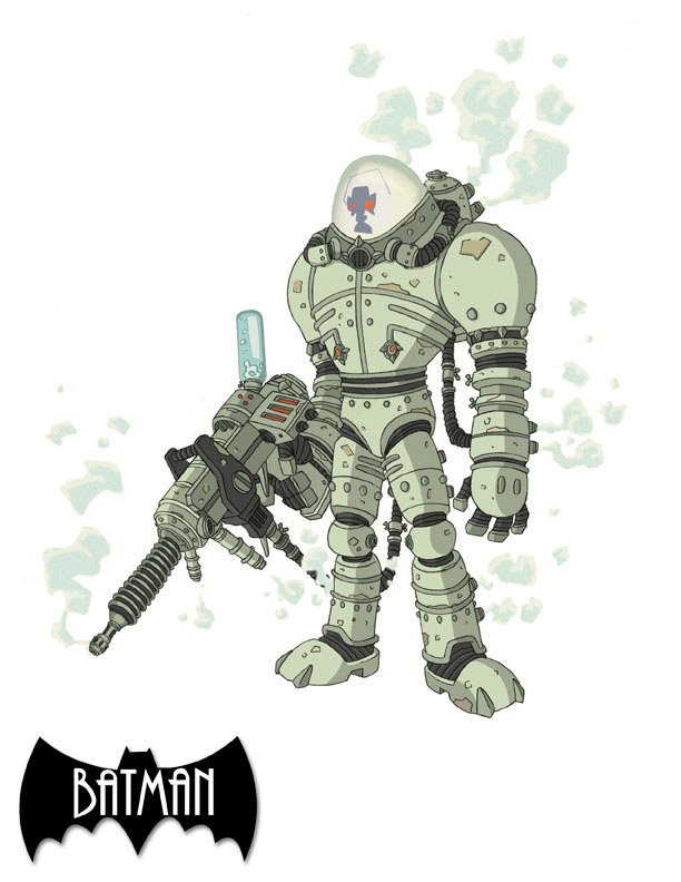 Mr. Freeze Colored by marcusmuller